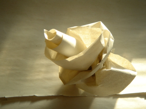 Recycled Paper Flower