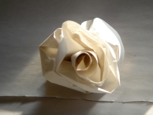 Recycled Paper Flower 2
